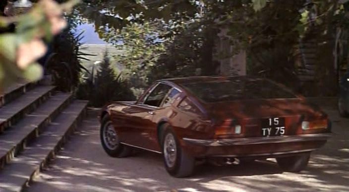 1968 maserati ghibli tipo 115 in la piscine for La piscine movie