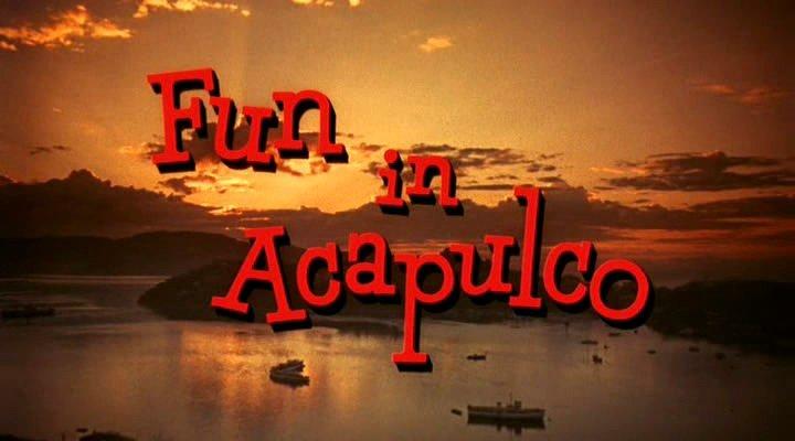 "IMCDb.org: ""Fun in Acapulco, 1963"": cars, bikes, trucks ..."