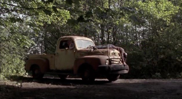 "Tow The Car >> IMCDb.org: 1948 Ford F-1 in ""Wrong Turn 2: Dead End, 2007"""