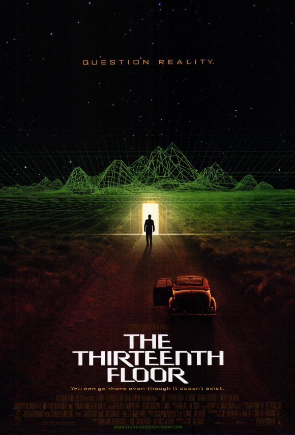 The thirteenth floor 1999 cars bikes for 13th floor 1988
