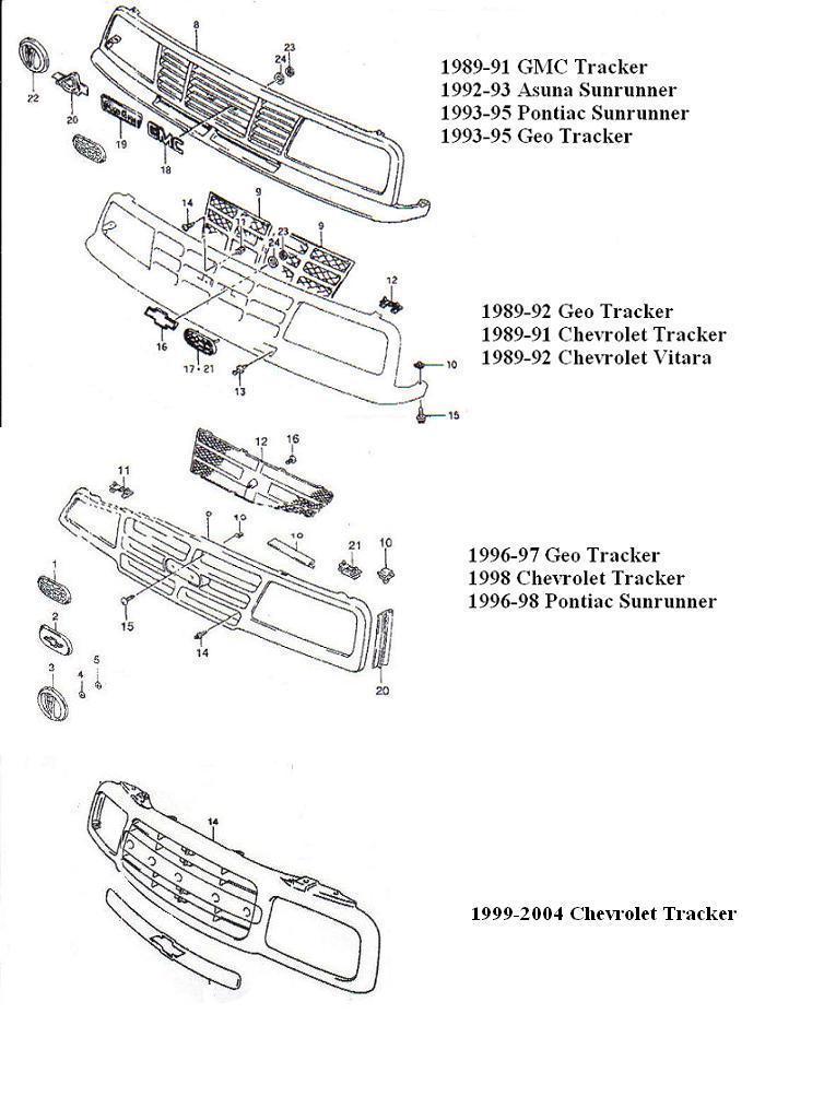 Imcdb Org  1991 Gmc Tracker Sle  Se416  In  U0026quot Speed 2