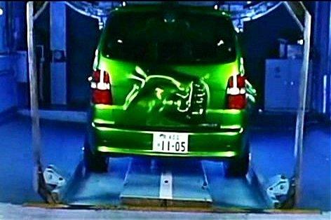 "Hulk Car Tokyo Drift >> IMCDb.org: 2005 Volkswagen Touran I [Typ 1T] in ""The Fast and the Furious: Tokyo Drift, 2006"""