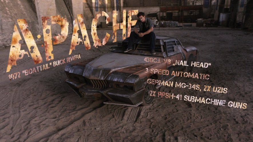 Imcdb Org Buick Riviera In Death Race