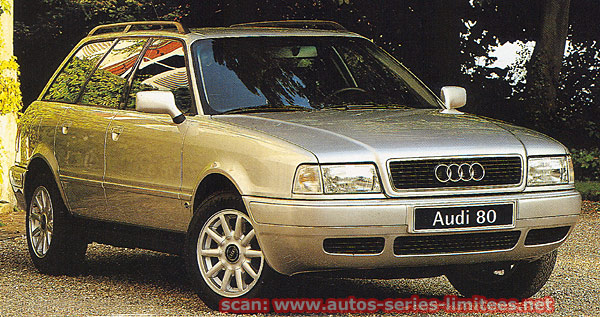 1994 audi 80 avant 1 9 tdi design edition b4 typ 8c in choses secr tes 2002. Black Bedroom Furniture Sets. Home Design Ideas