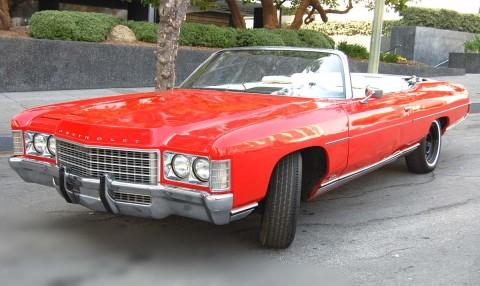 Imcdb Org 1971 Chevrolet Impala Convertible In