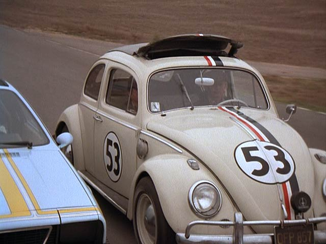 """IMCDb.org: 1963 Volkswagen Sun-Roof Sedan 'Beetle' [Typ 1] in """"Herbie goes to Monte Carlo, 1977"""""""