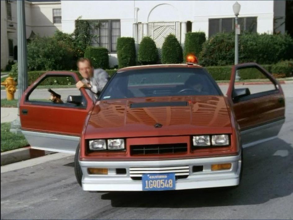 "IMCDb.org: 1984 Dodge Daytona Turbo Z [G] In ""Hunter, 1984"