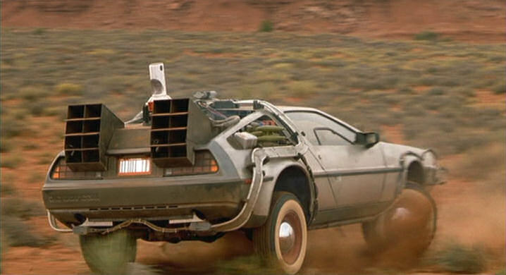 "IMCDb.org: 1982 De Lorean DMC 12 in ""Back to the Future ..."