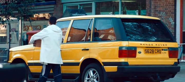 Yellow Range Rover Layer Cake