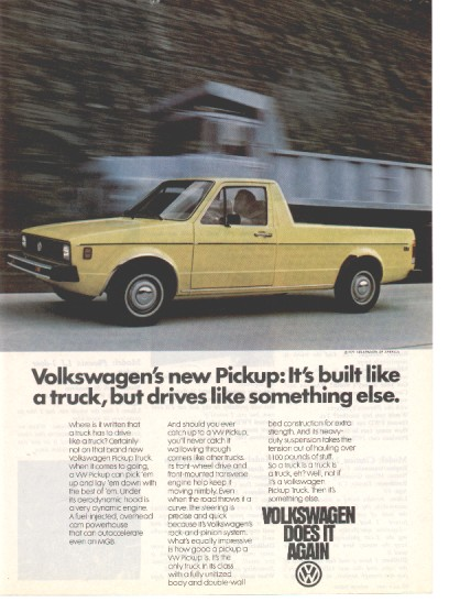 Imcdb Org 1982 Volkswagen Pickup I Typ 14d In Quot Author