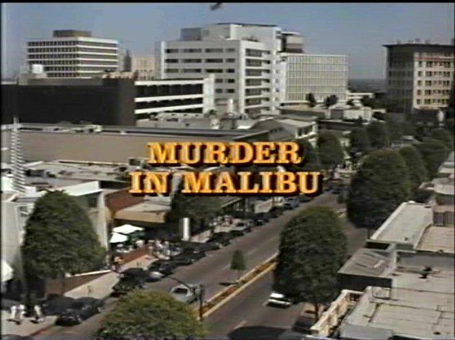 Imcdb Org Quot Columbo Murder In Malibu 1990 Quot Cars Bikes