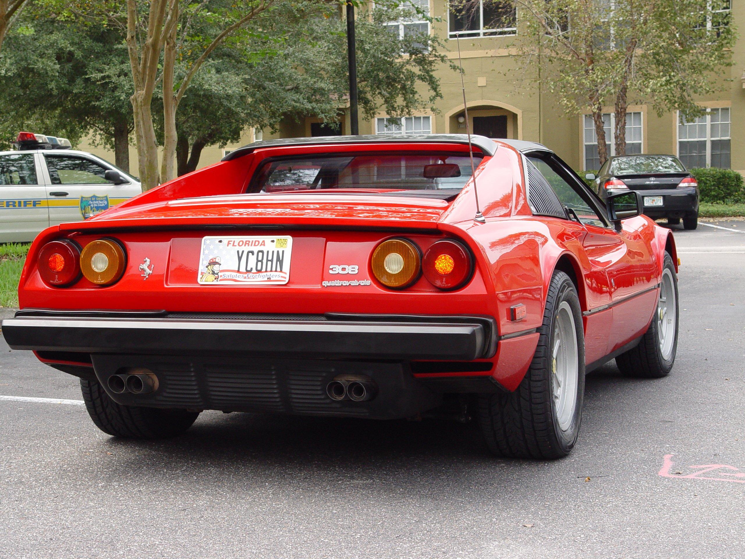 IMCDborg 1981 Ferrari 308 GTSi in Magnum PI 19801988