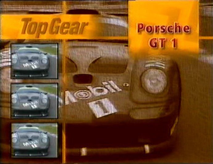 porsche 911 gt1 993 in top gear 1978 2001. Black Bedroom Furniture Sets. Home Design Ideas