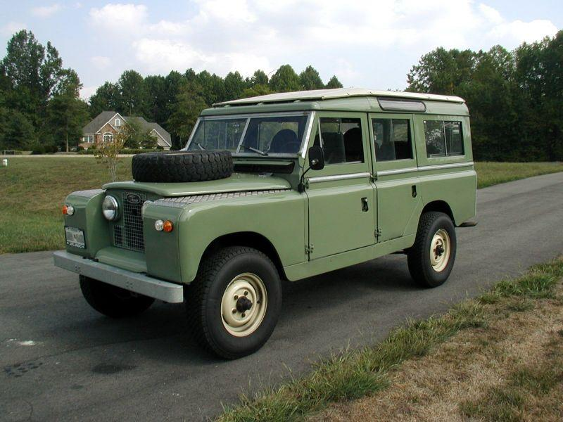 1958 land rover 109 39 39 series ii in xing xing wang 1977. Black Bedroom Furniture Sets. Home Design Ideas
