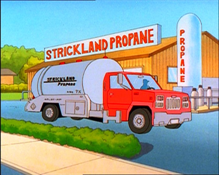 Hank Hill Propane Tank One of the strickland propaneHank Hill Propane Tank