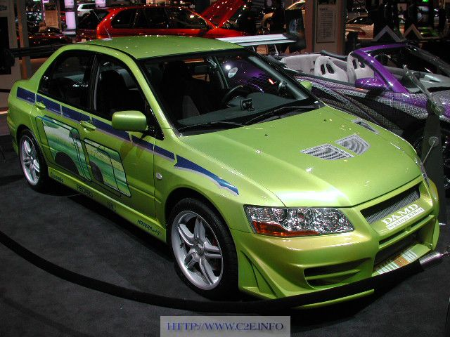 Lancer Fast And Furious the fast and the furious