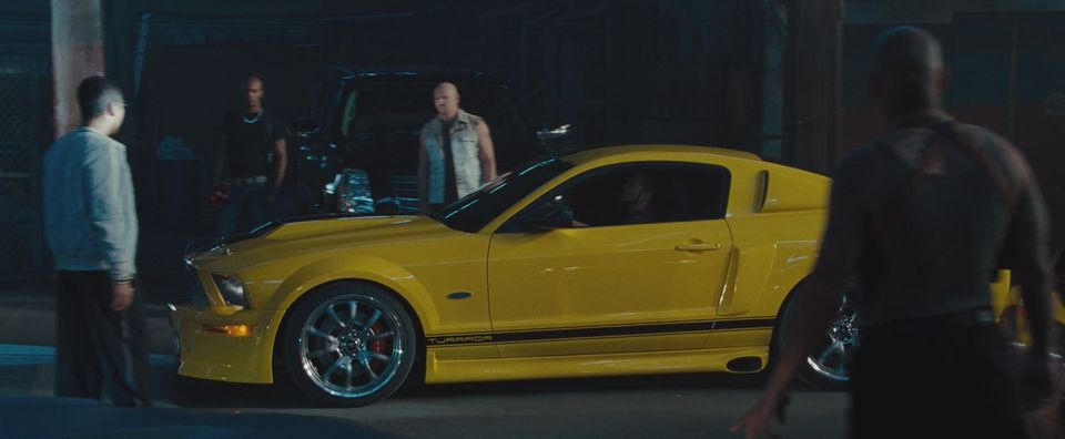 2008 tjaarda 550r mustang from the fast furious 4 movie car. Black Bedroom Furniture Sets. Home Design Ideas