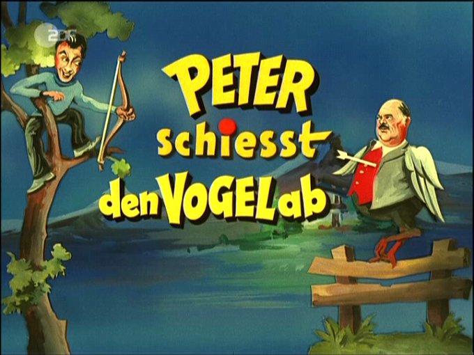 Peter Schiesst Den Vogel Ab
