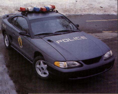 Imcdb Org 1994 Ford Mustang Gt Sn95 In Quot Robocop 1994 1995 Quot