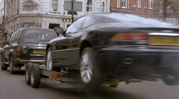 Imcdb Org 2002 Aston Martin Db7 Vantage Dans Johnny English 2003
