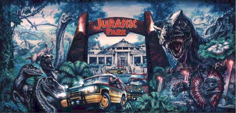 Jurassic World Ride Concept Art