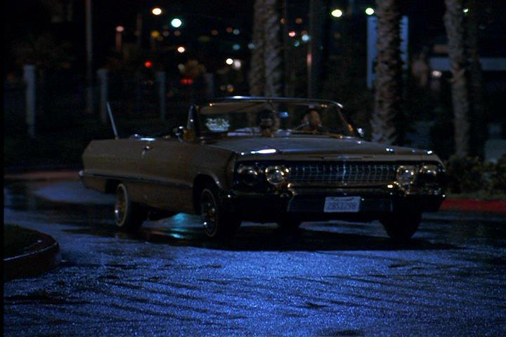 1963 chevrolet impala convertible 1867 in boyz n the hood 1991. Black Bedroom Furniture Sets. Home Design Ideas