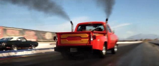 Imcdb Org Dodge D Adventurer Li L Red Express Truck In