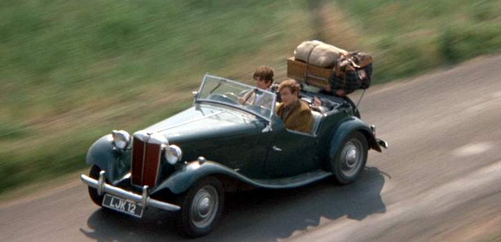 """IMCDb.org: 1950 MG TD in """"Two for the Road, 1967"""""""