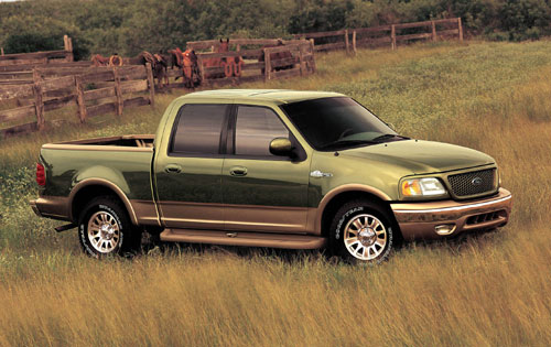 2001 ford f 150 supercrew king ranch in bolt. Black Bedroom Furniture Sets. Home Design Ideas