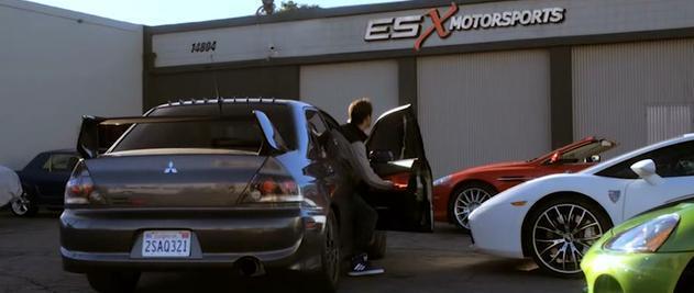 Imcdb Org Mitsubishi Lancer Evolution Ix In Born To Race