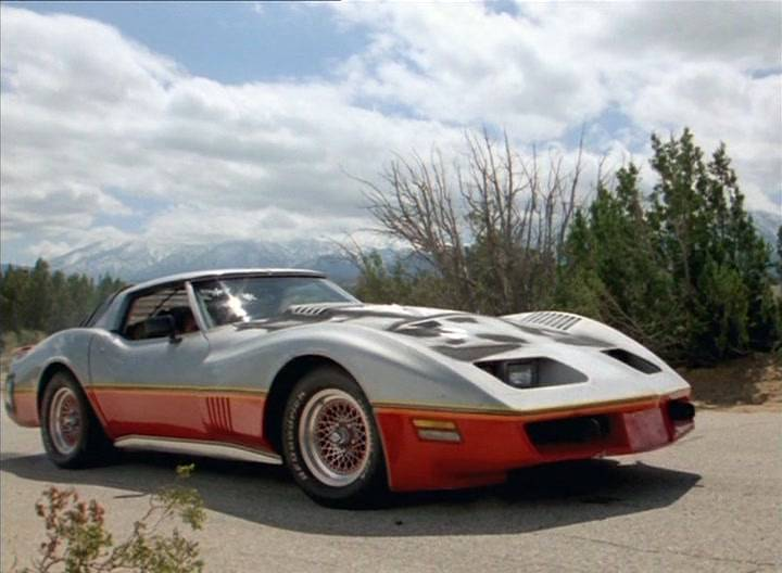 Imcdb Org 1977 Chevrolet Corvette C3 In Quot The Wraith 1986 Quot