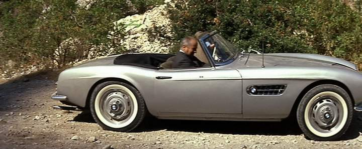 "Used Cars Honolulu >> IMCDb.org: 1956 BMW 507 Touring Sport in ""Fantômas, 1964"""