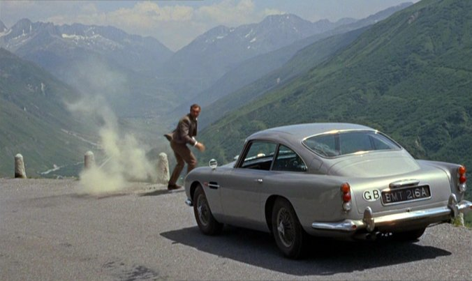 Imcdb Org 1963 Aston Martin Db5 Dp216 1 In Quot Goldfinger