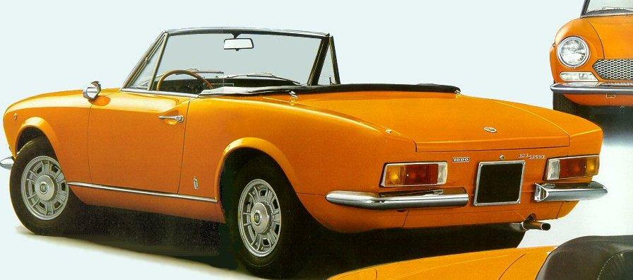 1968 fiat 124 sport spider 124as in the. Black Bedroom Furniture Sets. Home Design Ideas