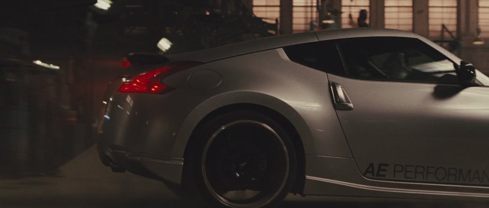 370z nissan 2009 performance ae z34 fast five cars imcdb earlier vehicle seen