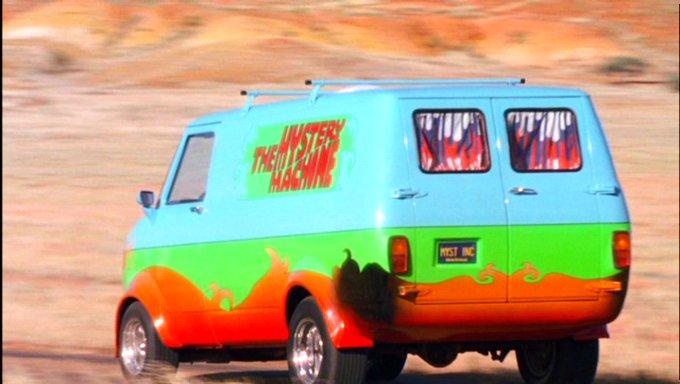 Scooby doo 2002 voitures motos camions et autres v hicules - Scooby doo voiture ...
