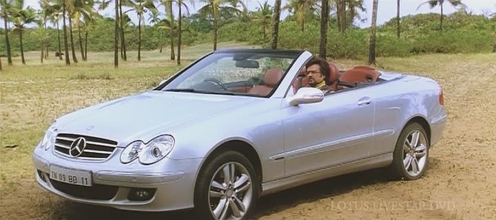 Mercedes benz clk 350 a209 in enthiran 2010 for 2010 mercedes benz clk350