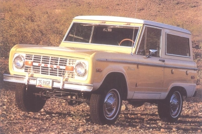 IMCDborg 1975 Ford Bronco In Franklin Bash 2011 2014