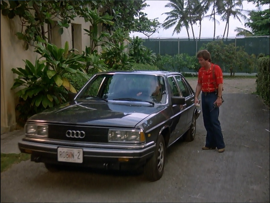 Imcdb Org 1980 Audi 5000 S C2 Typ 43 In Quot Magnum P I
