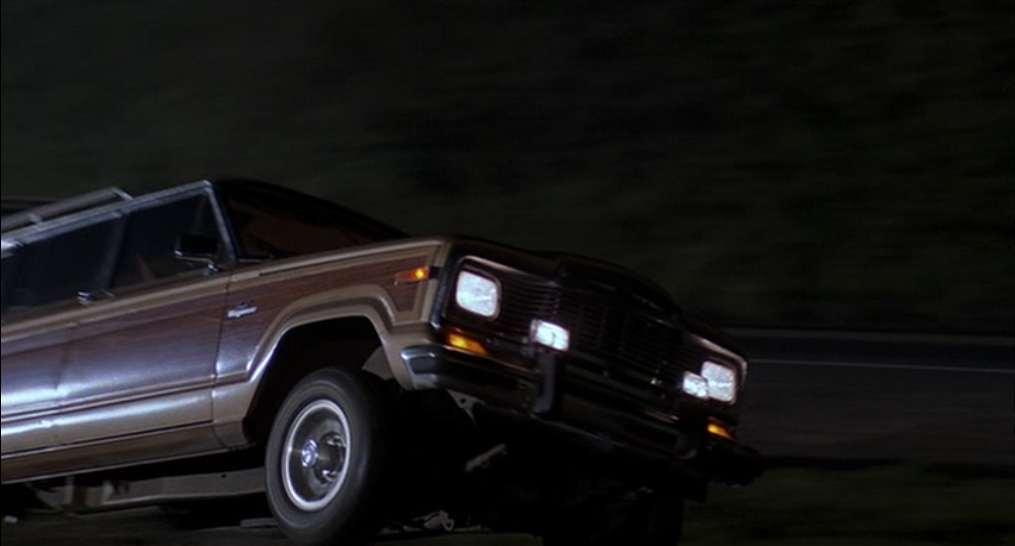 "Jeep Wagoneer 2018 >> IMCDb.org: 1984 Jeep Grand Wagoneer [SJ] in ""Howard the Duck, 1986"""
