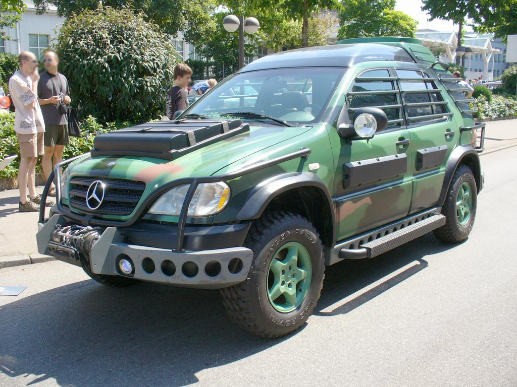 1997 mercedes benz ml 320 pre production w163 for Mercedes benz utility vehicle