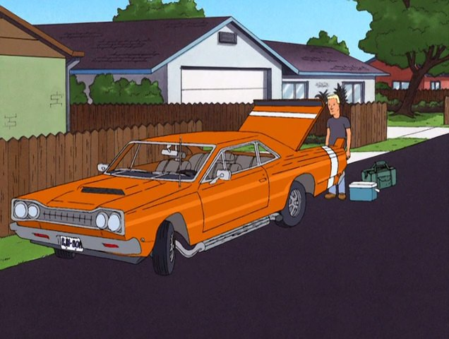 """IMCDb.org: 1969 Dodge Coronet In """"King Of The Hill, 1997-2010"""""""