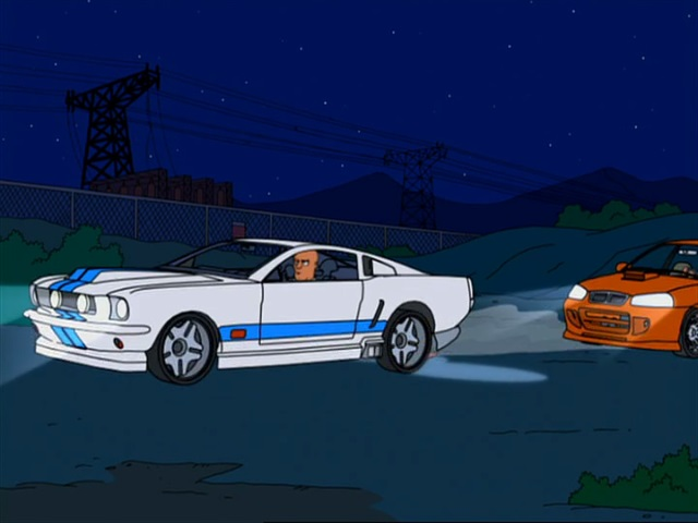 """2016 Mitsubishi Eclipse >> IMCDb.org: 1967 Ford Mustang Fastback 2+2 in """"American Dad!, 2005-2019"""""""