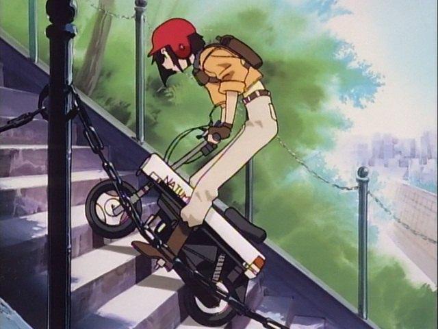 "IMCDb.org: 1981 Honda Motocompo [AB12] in ""Taiho Shichauzo ..."