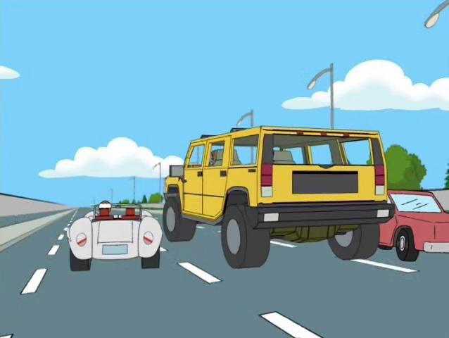 """IMCDb.org: 2003 Hummer H2 [GMT820] in """"Family Guy, 1999-2018"""""""