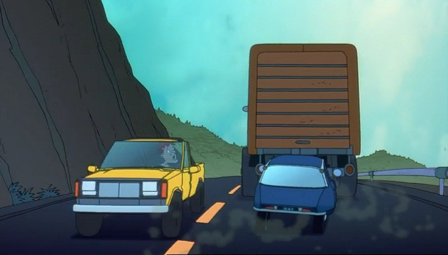 """New Chevy Trucks >> IMCDb.org: """"The Rugrats Movie, 1998"""": cars, bikes, trucks and other vehicles"""