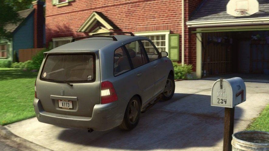 opel zafira b in toy story 3 2010. Black Bedroom Furniture Sets. Home Design Ideas
