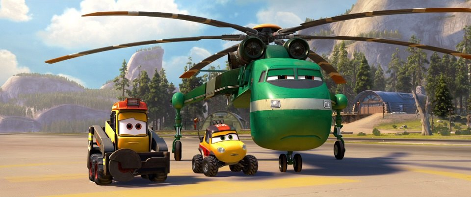Imcdb Org Quot Planes Fire Amp Rescue 2014 Quot Cars Bikes