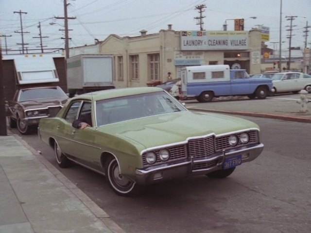 1972 ford galaxie 500 in the streets of san. Black Bedroom Furniture Sets. Home Design Ideas