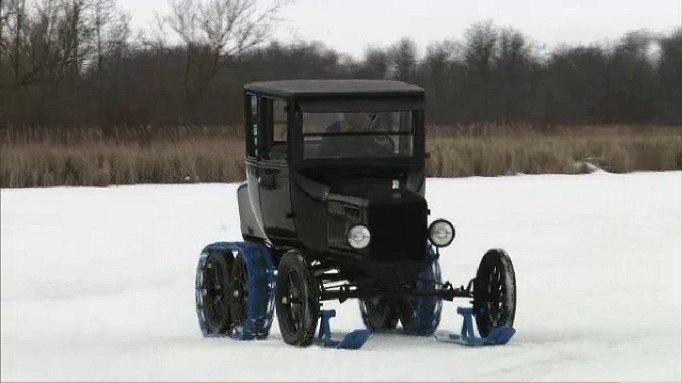Model t Snow Flyer 1925 Ford Model t Snow Flyer